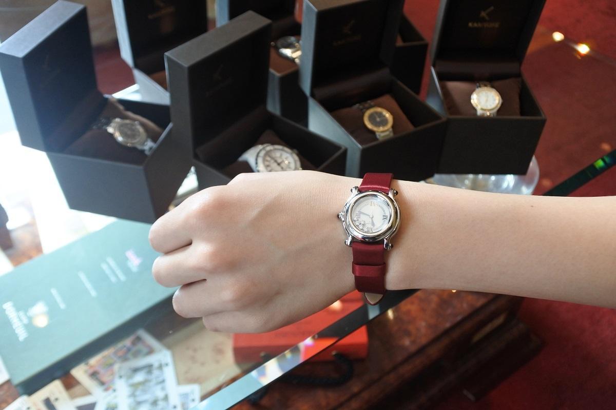 女性用高級腕時計の月額制レンタル