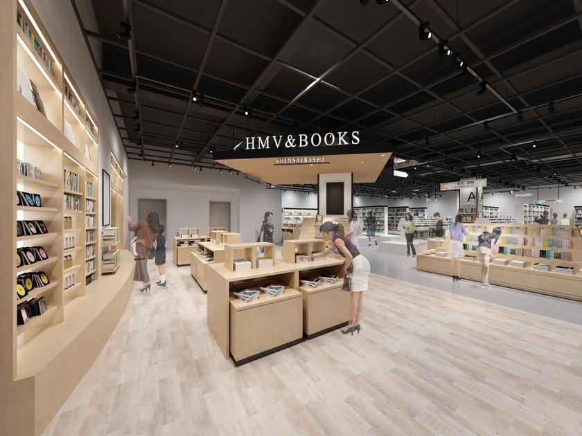 「HMV&BOOKS SHINSAIBASHI」の店舗イメージ