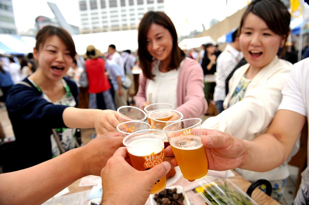 「CRAFT BEER LIVE 2017」の様子