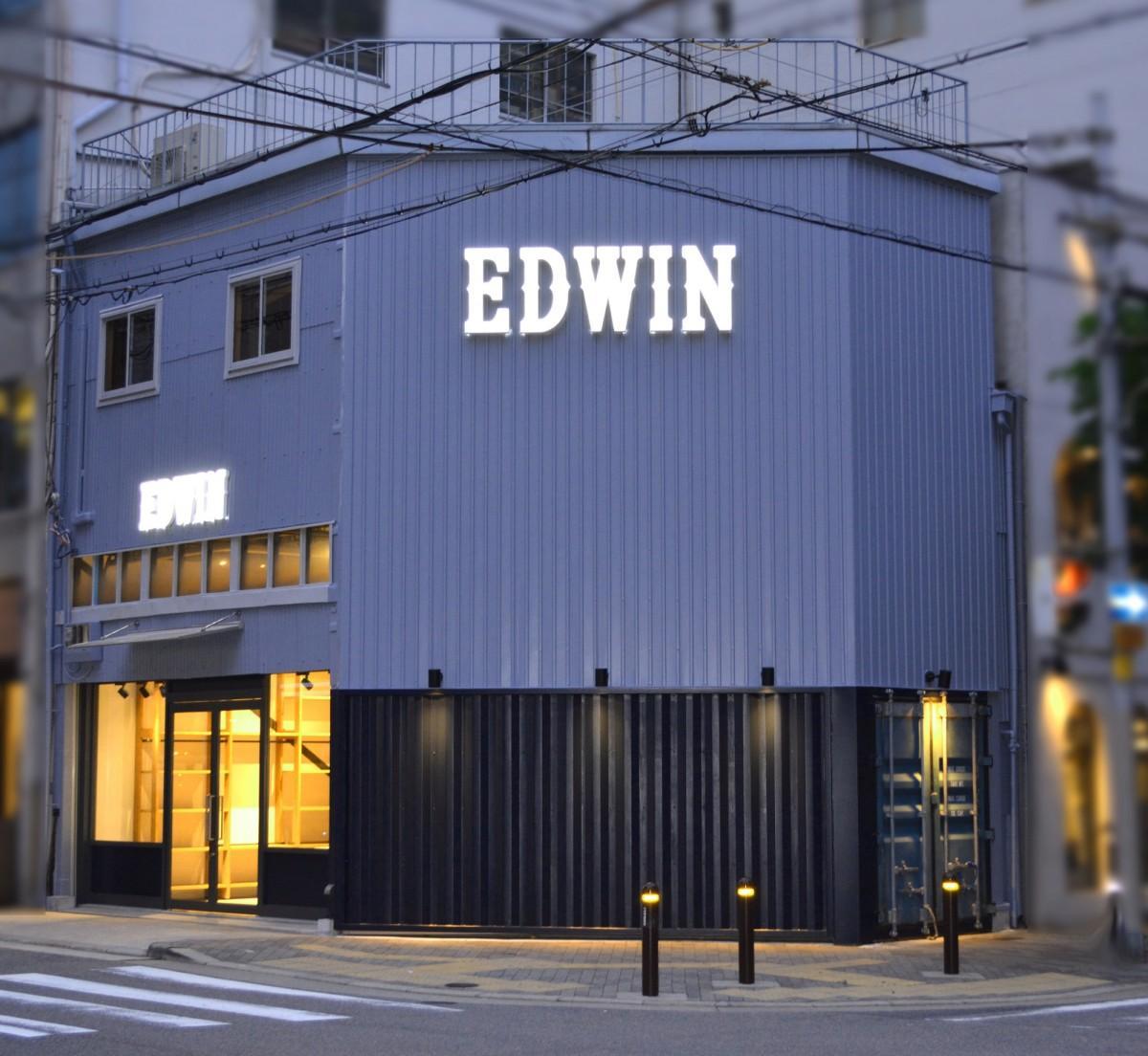 「EDWIN MINAMI HORIE」の外観(夜)