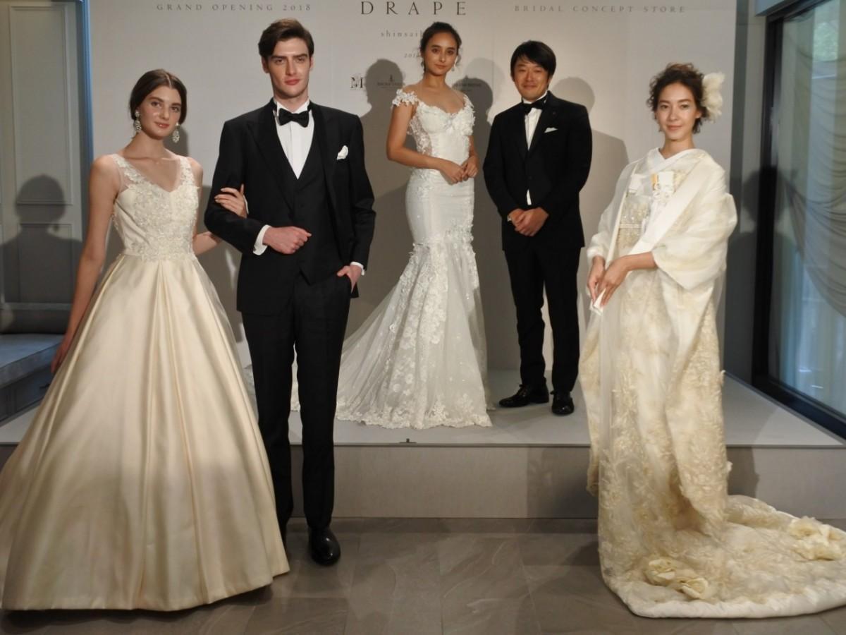 石田ニコルさんと高見重行さんとランウェイを歩いたモデル