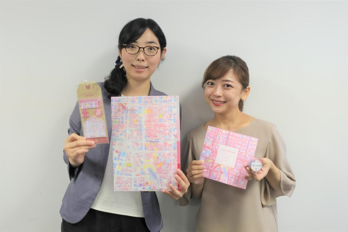ゼンリンの鈴木さん(左)と小松さん(右)
