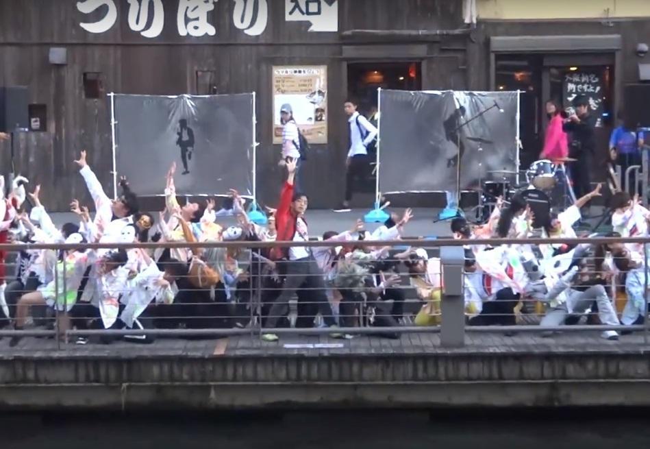 昨年の「マイケル・ジャクソン追悼ダンス」の様子