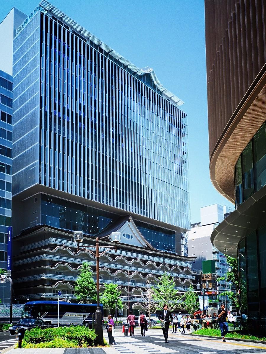 「ホテルロイヤルクラシック大阪」の外観(5月末現在)