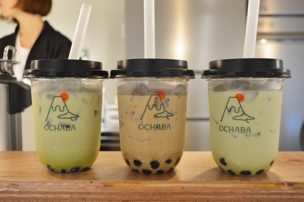 日本茶ミルクティー専門店「OCHABA」