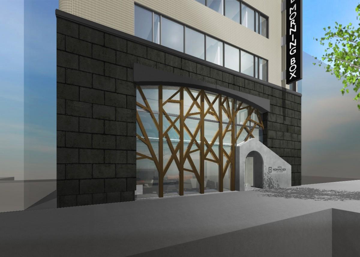 「ホテルモーニングボックス大阪心斎橋」の入り口イメージ