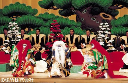 上映される「連獅子」©松竹