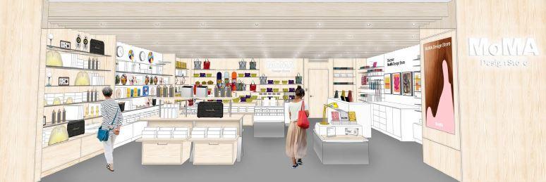 「MoMA Design Store 心斎橋」の店舗イメージ