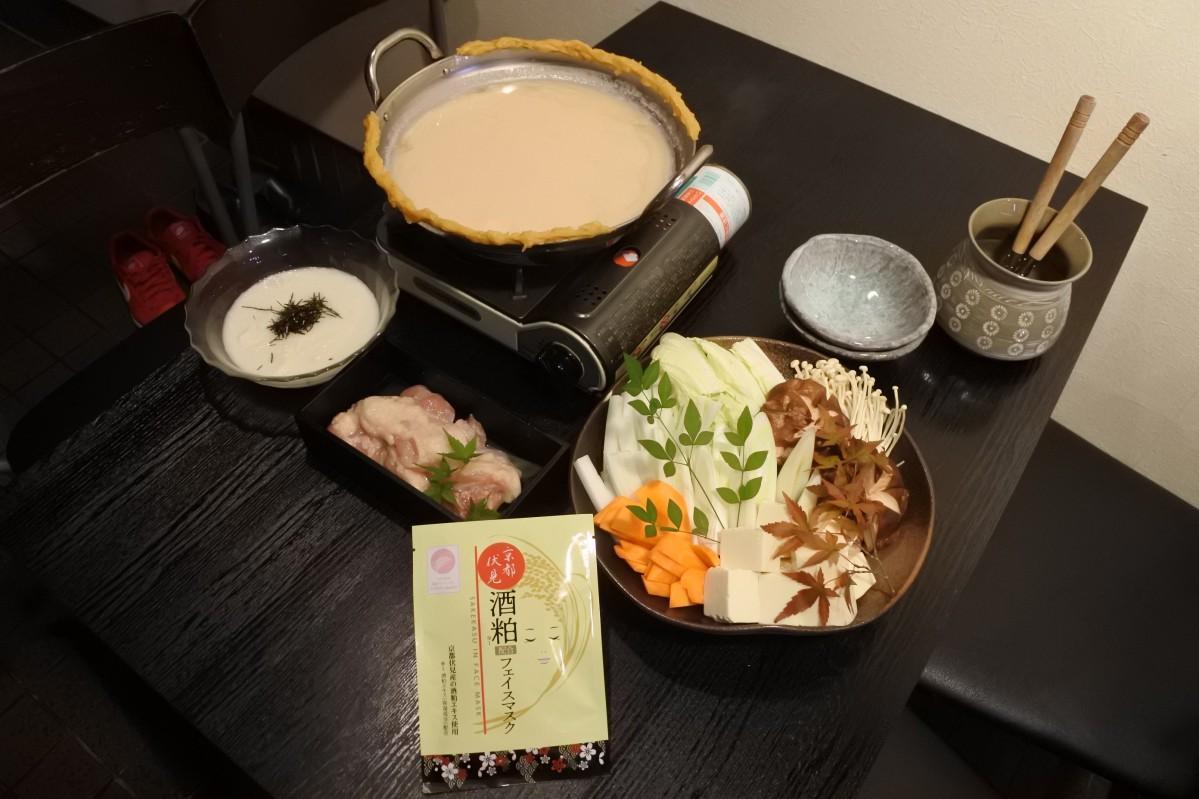 美容を意識したという「鶏プル発酵鍋」