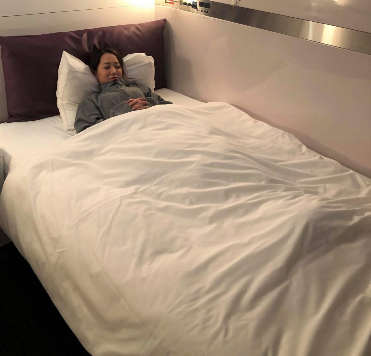 帝人フロンティアと共同開発の機能性寝具で睡眠