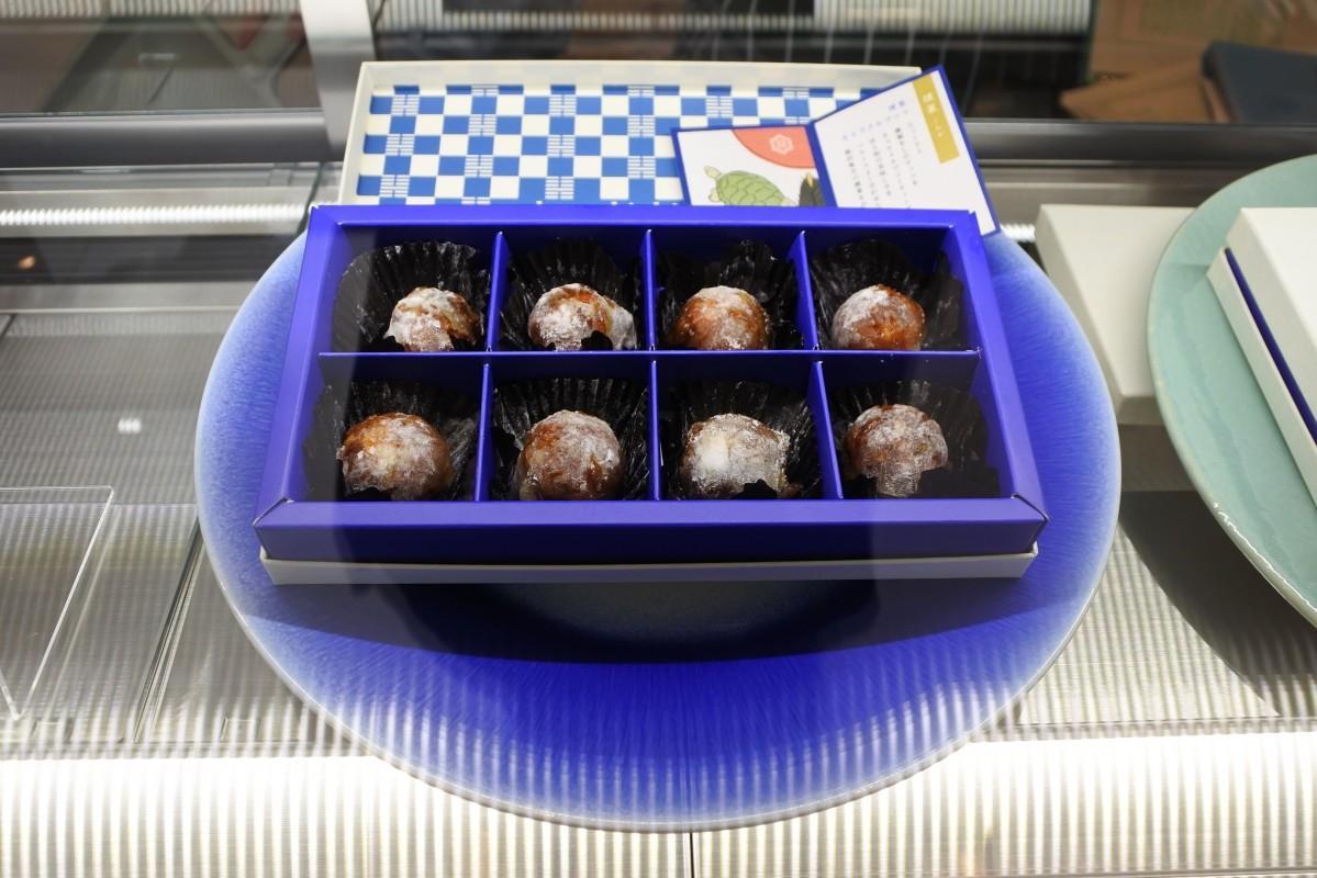 オープン記念で開発した「燻製キャラメルナッツ」