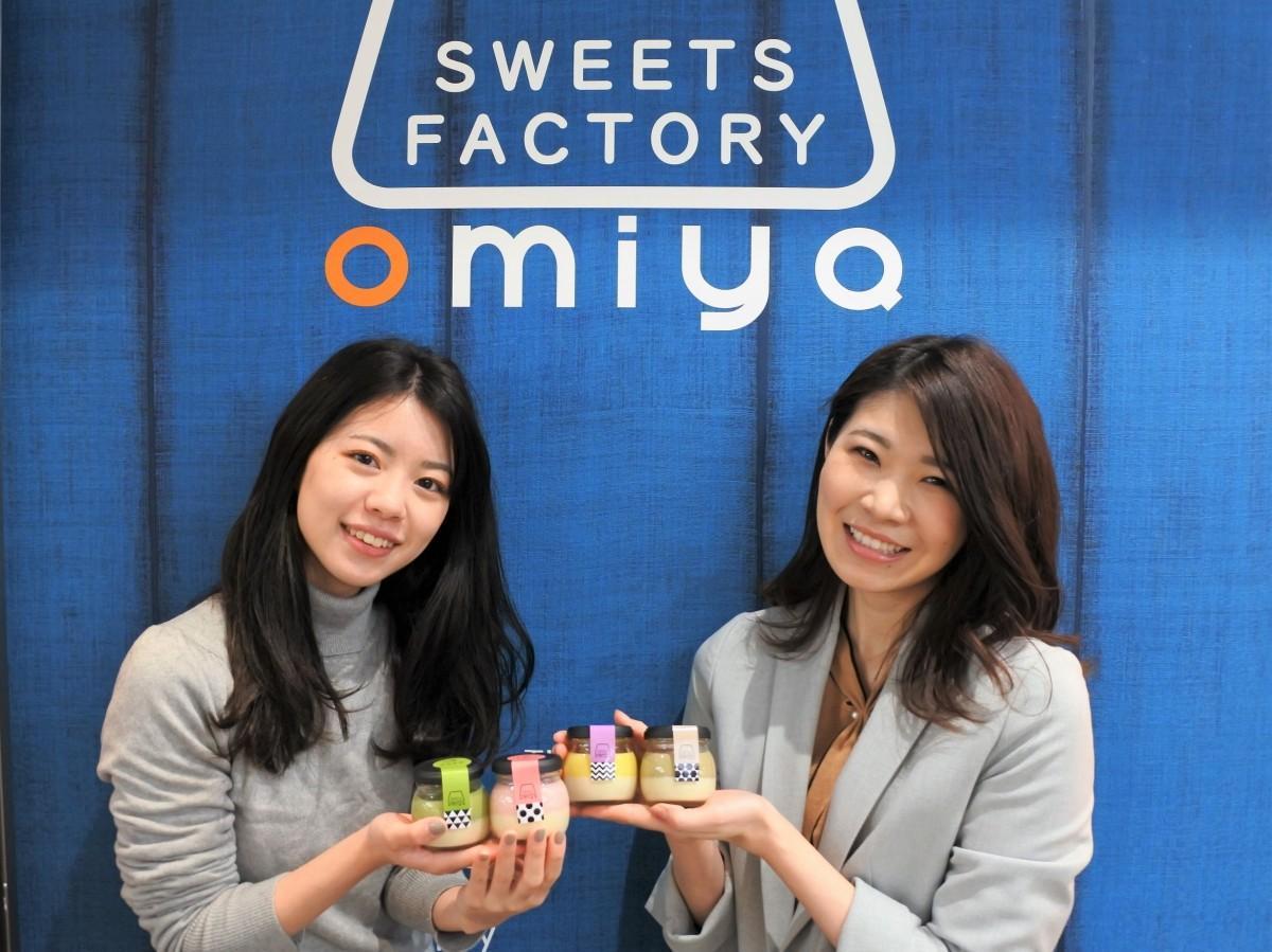 ウェブディレクターの磯部有里さん(左)と管理栄養士の江星瑠璃さん(右)