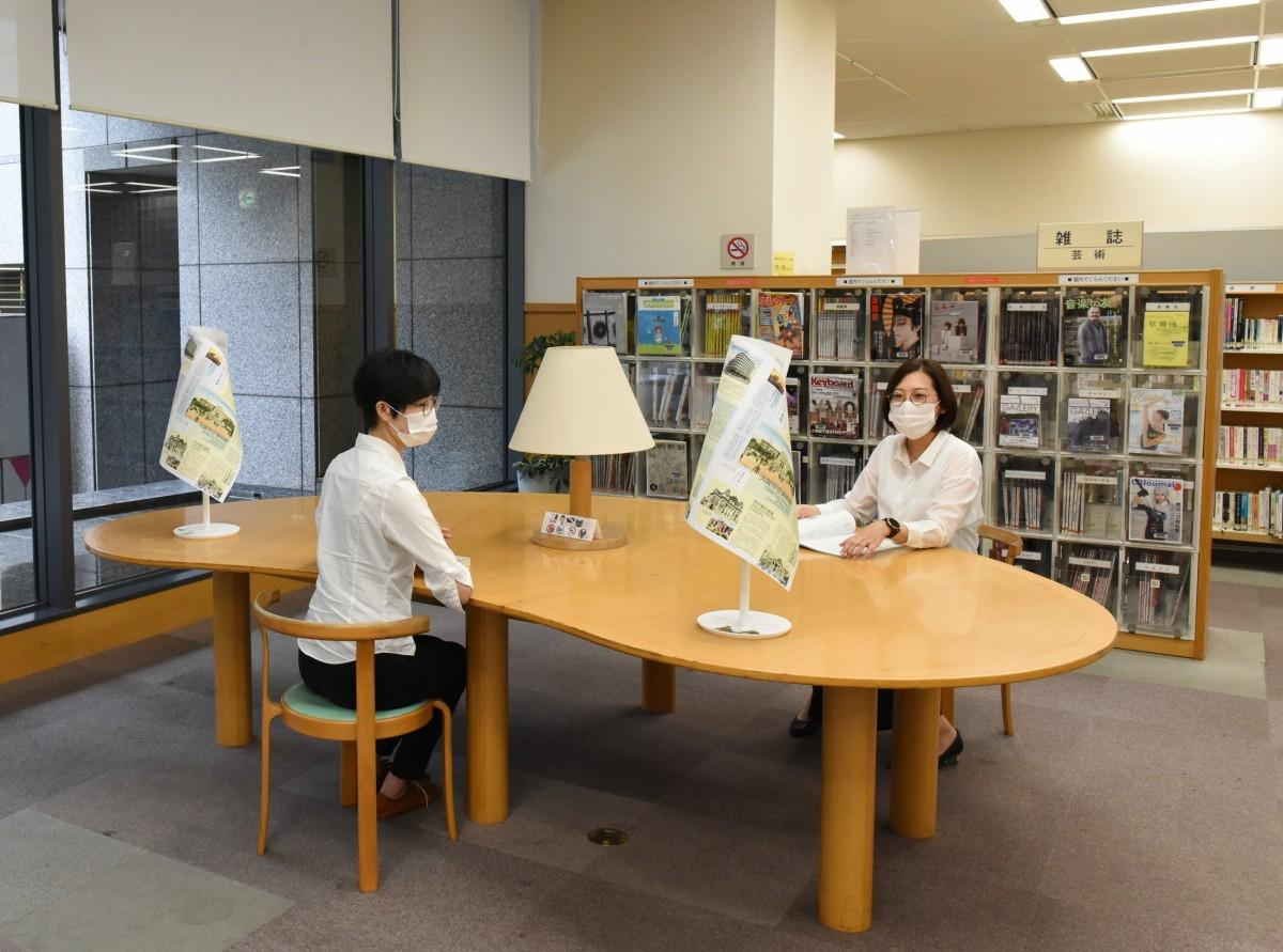 「キテン・プロジェクト」を導入する大阪市立中央図書館