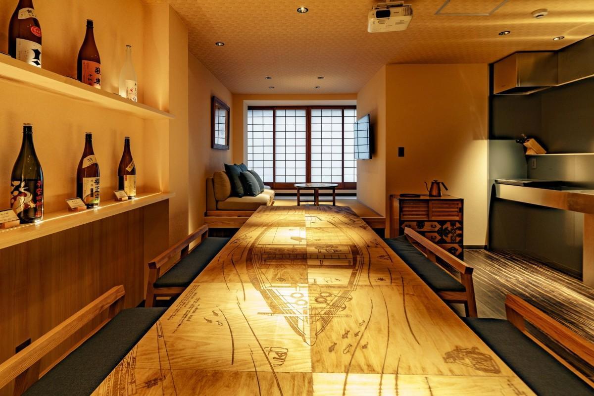 心斎橋に一棟貸しの民泊施設 江戸時代のたる廻船コンセプトに - なんば ...