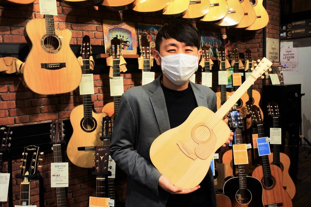 「メモリアルギター」を開発した三木楽器