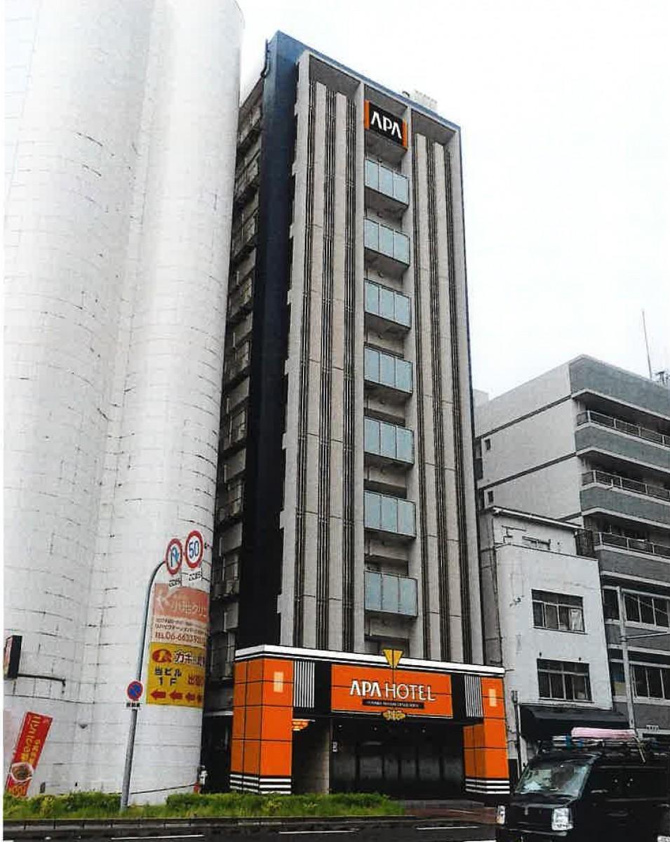 10月末にオープンする「アパホテル<なんば南 大国町駅前>」イメージ