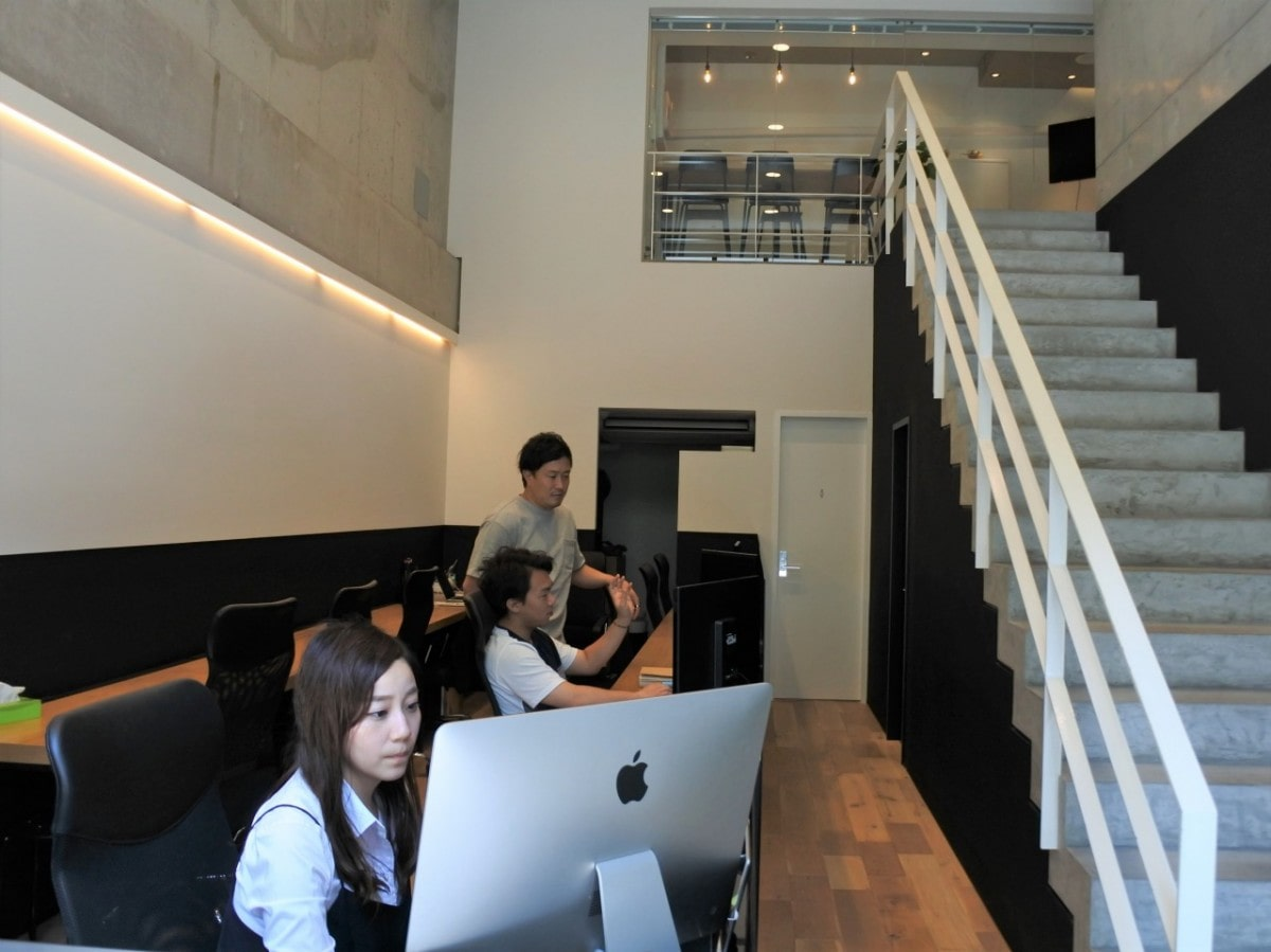 1階は同社の執務室 - なんば経済...