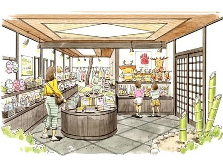 奈良のキャラクターグッズ販売店「ならクターショップ絵図屋(ezuya)」のイメージ
