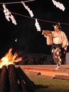 奈良「薪御能」に2日で6千人-初夏の夕暮れに幽玄の美