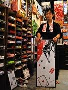 手ぬぐいで奈良をアピール-奈良の専門店「朱鳥」の商品が人気に