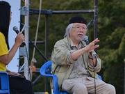 松本零士さんトークショーも 満天の星空の下で映画鑑賞