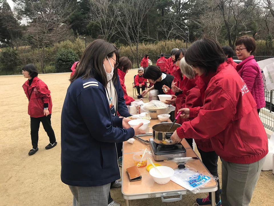 結成して一年が経った奈良市富雄南女性防災クラブ