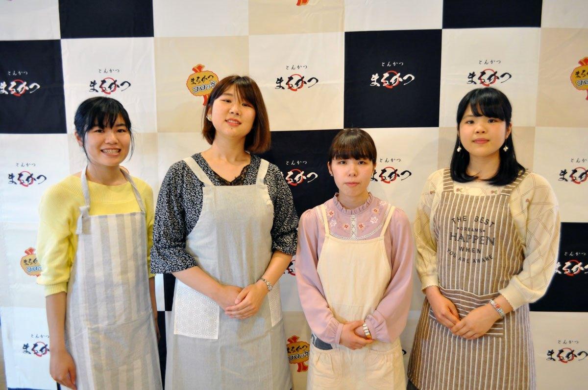 奈良女子大学の学生団体「奈良の食プロジェクト」のみなさん