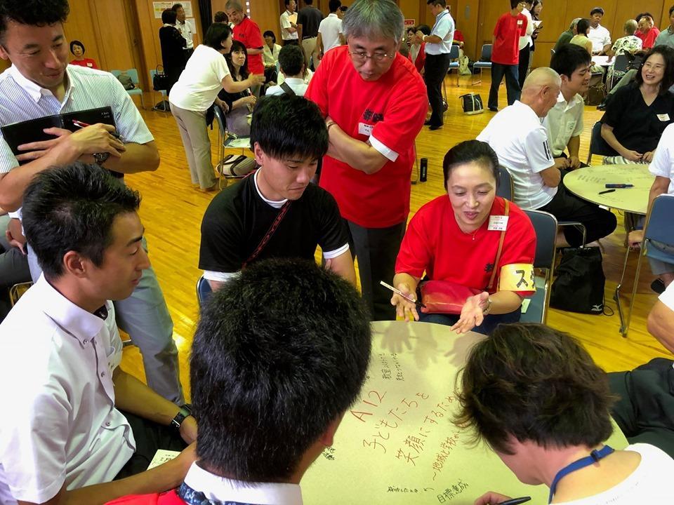 熟議の様子(写真提供:奈良市教育委員会 地域教育協議会)