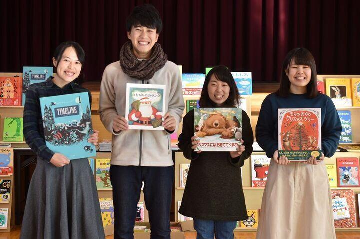 全国から寄付により集まった本を子どもに本を届ける「ブックサンタ」