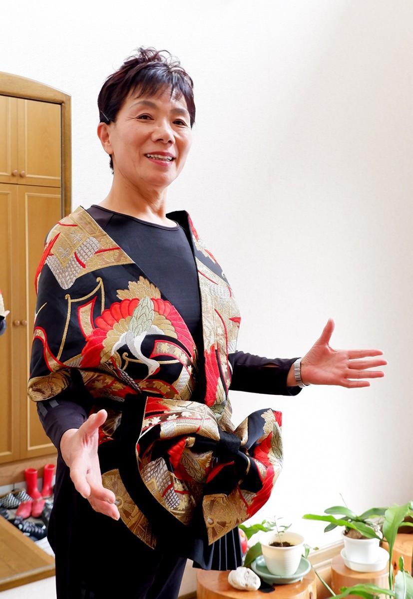 ソプラノ歌手 鶴澤美枝子さん(69)