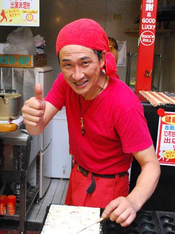 奈良経済新聞「赤い魂のコロッケンロール」-ハイテンション店主のたこ焼き店が発売へ