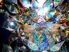 奈良・平城宮跡がきらびやかに 話題のアーティストが「光のアート」展示