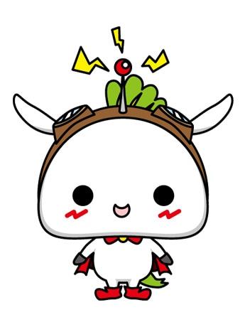 「アニメのまち 練馬区」公式アニメキャラクター「ねり丸」 © 練馬区
