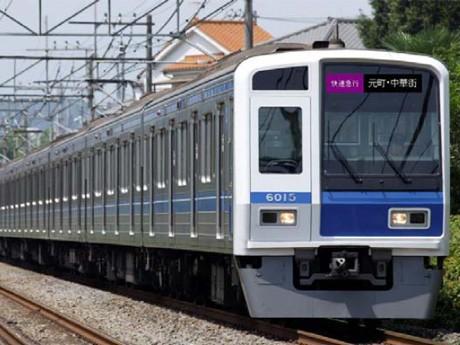 東急東横線・横浜高速みなとみらい線に直通運転する 6000 系(イメージ)