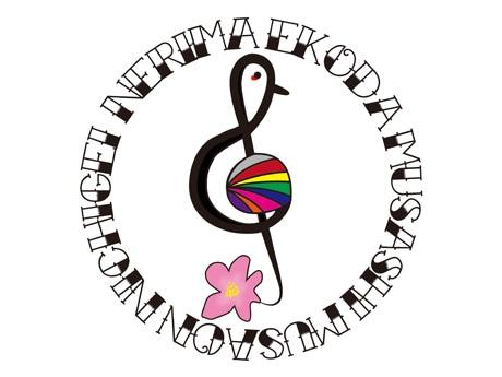 それぞれの団体のシンボルをあしらったロゴ