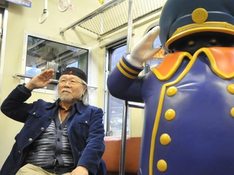 「銀河鉄道999」原作者の松本零士さん
