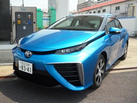燃料電池自動車「トヨタ・MIRAI」