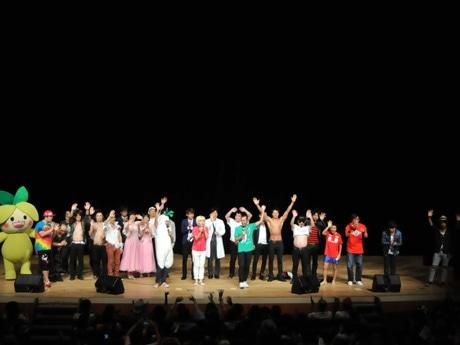 芸人12組とアーティスト2組が出演したチャリティーお笑いライブ「RieLive(リィライブ) in 練馬」