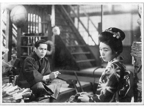 新興キネマ東京撮影所製作の代表作品「愛怨峡(あいえんきょう)」(1937年)