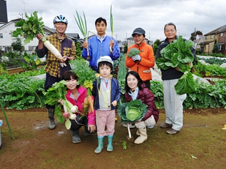 農業体験農園の利用者