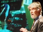 タイトル 練馬でイグ・ノーベル賞博士が講演会 小中学生に生き物の不思議を話す