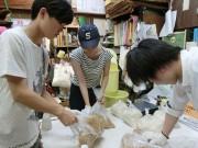 中村橋のみそ蔵で大学生がみそ造り 江古田3大学の学園祭メニューで