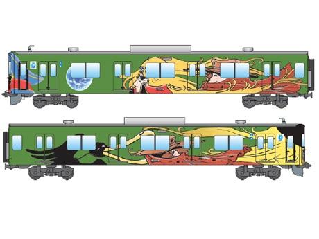 新「銀河鉄道999デザイン電車」のイメージ ©Leiji Matsumoto, SEIBU Railway Co.,LTD.