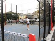 練馬・関町に、都内初「パデルコート」 スペイン発、テニスに似た新スポーツ