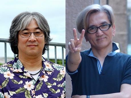 宇田鋼之介さん(左)、神志那弘志さん