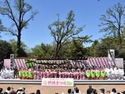 石神井公園で「照姫まつり」 家族連れでにぎわう