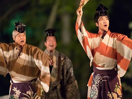 石神井台の公園で「薪能」 練馬区ゆかりの能楽師が出演