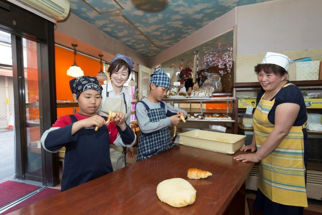 パン作り講座の様子