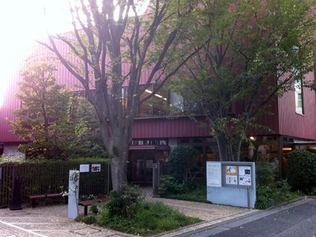 「ちひろ美術館・東京」外観