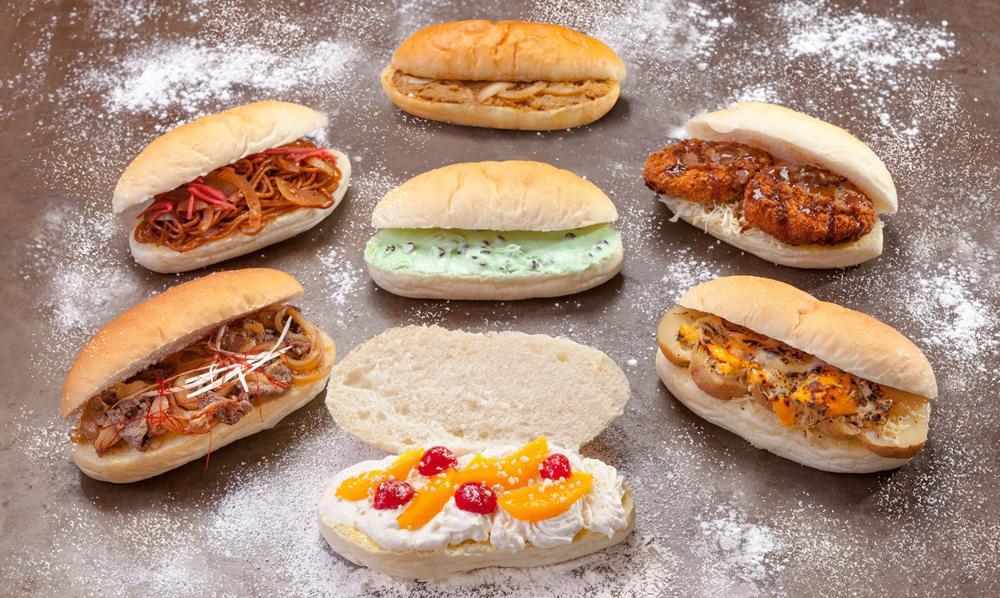 コッペパン専門店「豪雪堂」のおすすめのコッペパン7種